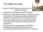 the aain journey1
