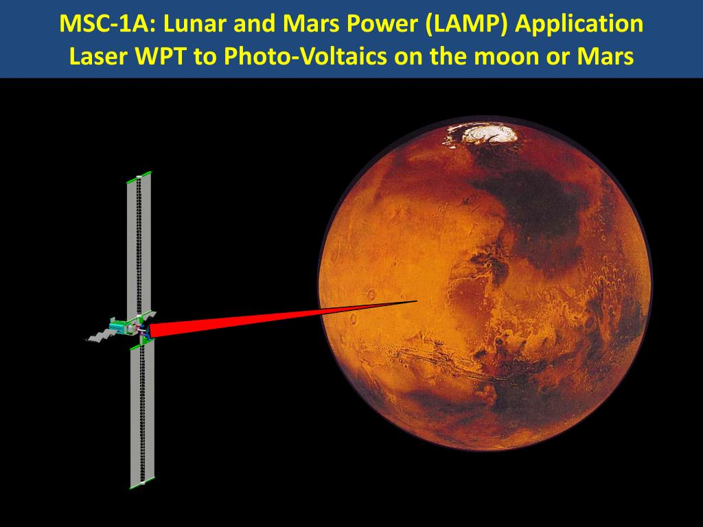 MSC-1A: Lunar and Mars Power (LAMP) Application