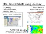 real time products using bluesky