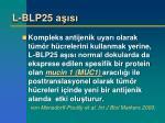 l blp25 a s