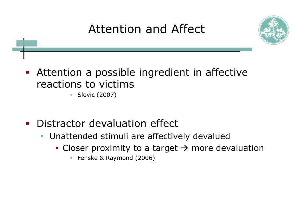Attention and Affect