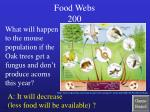 food webs 200