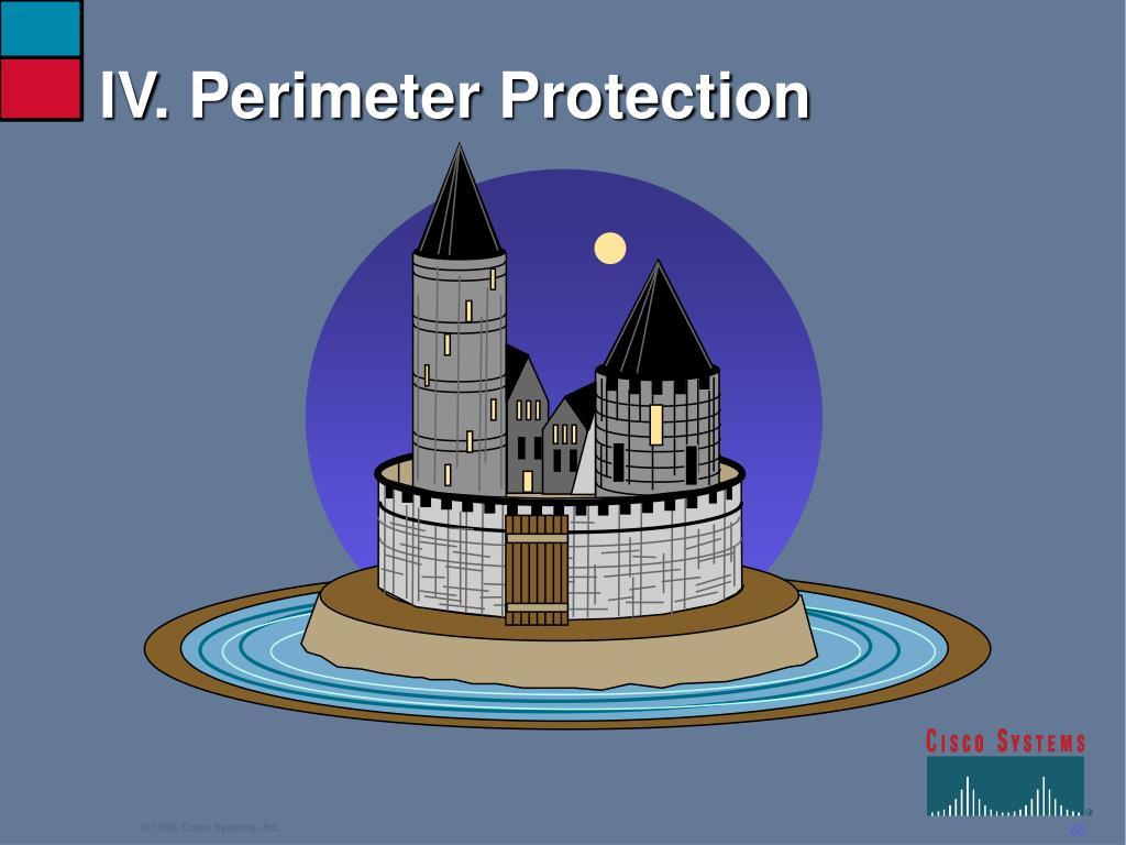 IV. Perimeter Protection