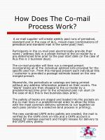 how does the co mail process work