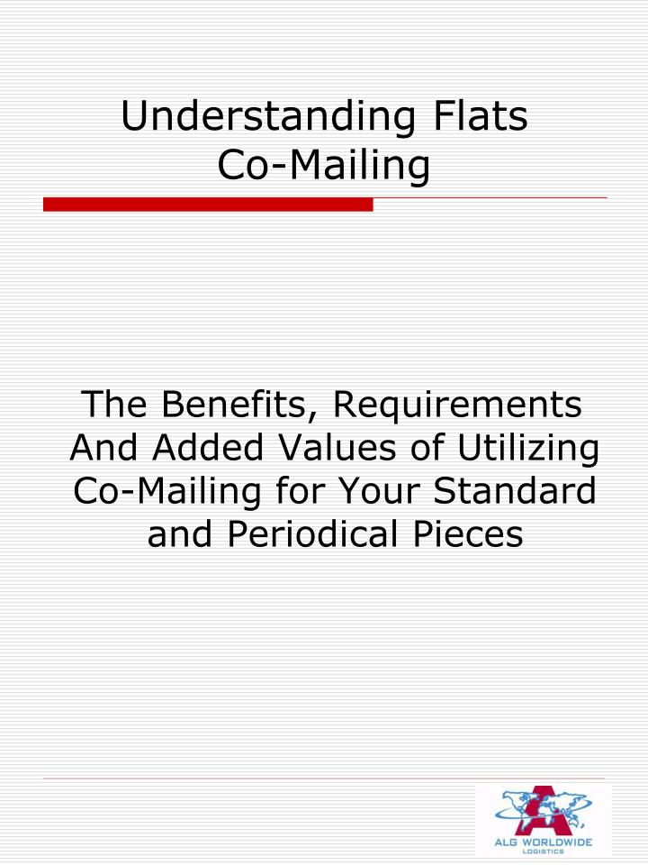 understanding flats co mailing n.