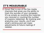 it s measurable