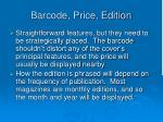 barcode price edition