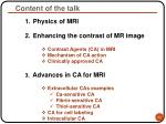 content of the talk22