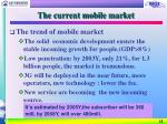 the current mobile market11