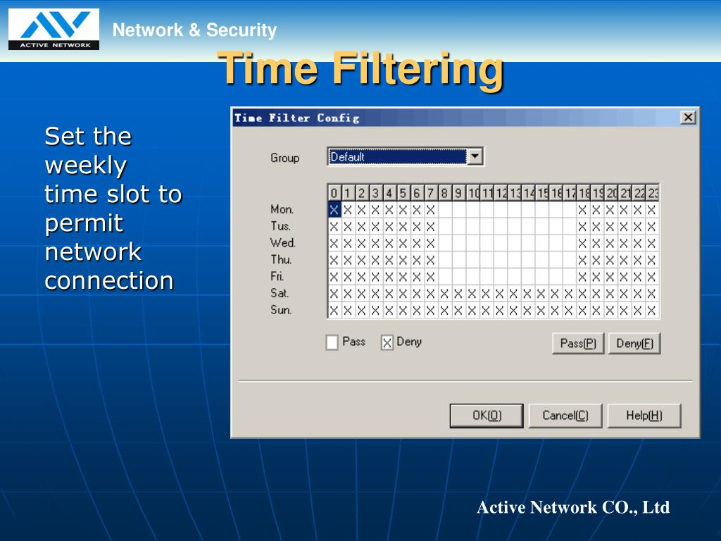 Time Filtering