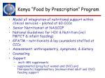 kenya food by prescription program