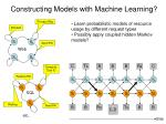 constructing models with machine learning