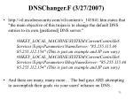 dnschanger f 3 27 2007