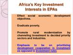 africa s key investment interests in epas