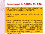 investment in sadc eu epa