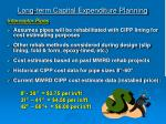 long term capital expenditure planning