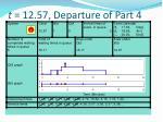 t 12 57 departure of part 4