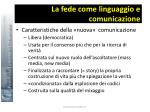 la fede come linguaggio e comunicazione11
