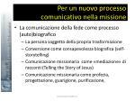 per un nuovo processo comunicativo nella missione44