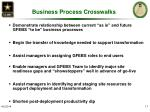 business process crosswalks