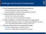 challenges and security considerations