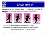 child fatalities