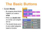 the basic buttons8