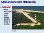 alternatives to hard stabilization33