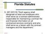 florida statutes20