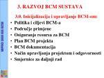 3 razvoj bcm sustava