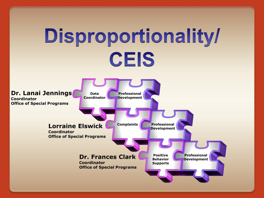 disproportionality ceis l.