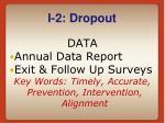 i 2 dropout