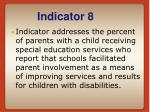 indicator 8
