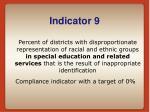indicator 9