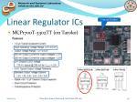 linear regulator ics