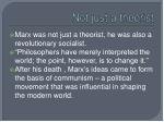 not just a theorist