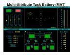 multi attribute task battery mat