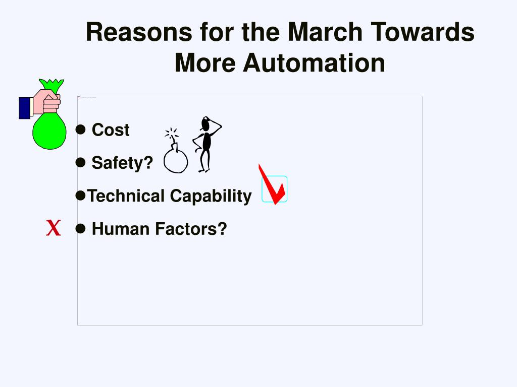 Reasons for the March Towards More Automation