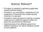 science relevant