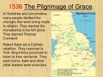 1536 the pilgrimage of grace