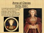 anne of cleves 1515 1557