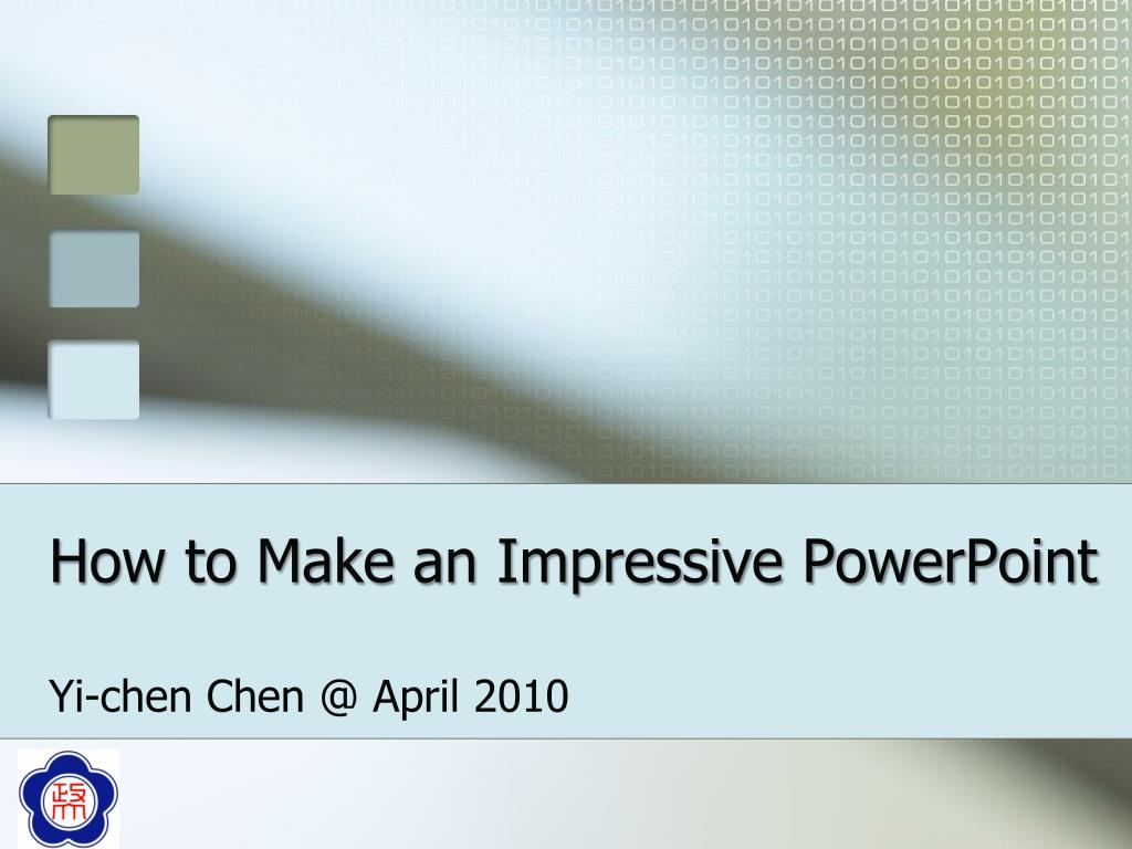 how to make an impressive powerpoint l.