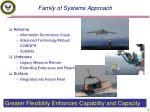 family of systems approach