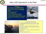 navy uas operations in the fleet