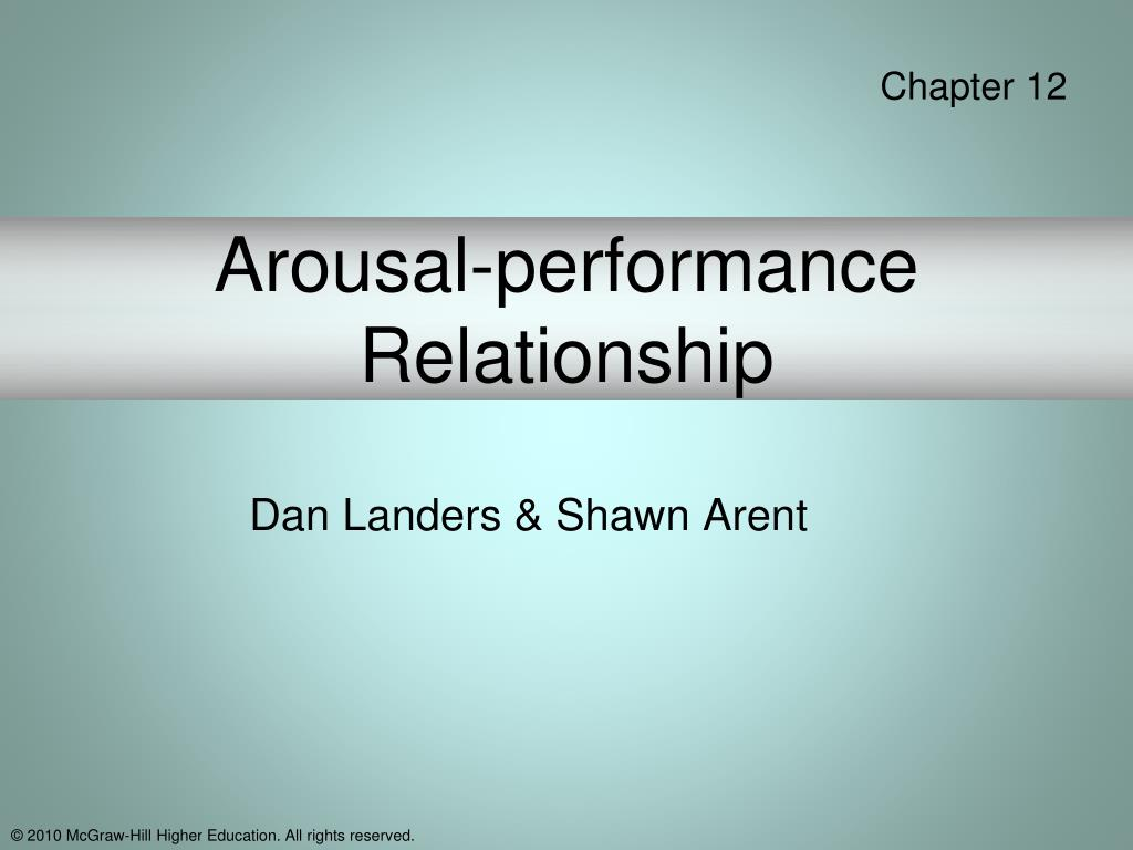 arousal performance relationship l.