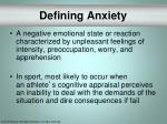 defining anxiety
