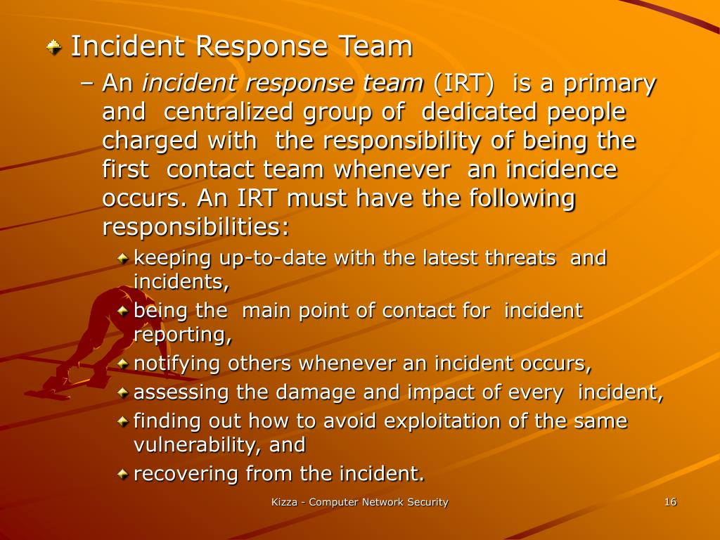 Incident Response Team