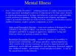mental illness13