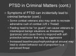 ptsd in criminal matters cont14
