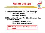 small groups1